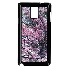 Ohio Redbud Samsung Galaxy Note 4 Case (black) by Riverwoman