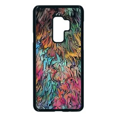 Oil Paint Samsung Galaxy S9 Plus Seamless Case(black) by Bajindul