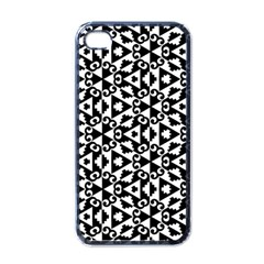 Geometric Tile Background Iphone 4 Case (black)