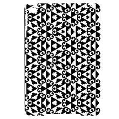 Geometric Tile Background Apple Ipad Mini 4 Black Uv Print Case by Bajindul