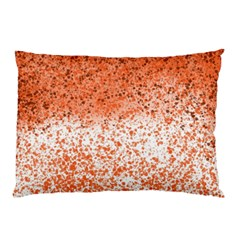 Scrapbook Orange Shades Pillow Case (two Sides)