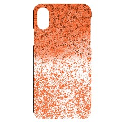 Scrapbook Orange Shades Iphone X/xs Black Uv Print Case