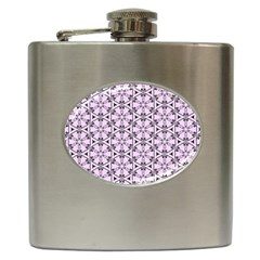 Texture Tissue Seamless Flower Hip Flask (6 Oz) by HermanTelo