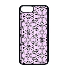 Texture Tissue Seamless Flower Iphone 8 Plus Seamless Case (black)