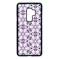 Texture Tissue Seamless Flower Samsung Galaxy S9 Plus Seamless Case(black) by HermanTelo