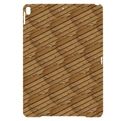 Wood Texture Wooden Apple Ipad Pro 10 5   Black Uv Print Case