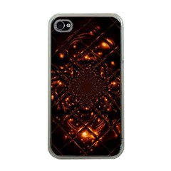 Fire Glass Fractal Iphone 4 Case (clear)