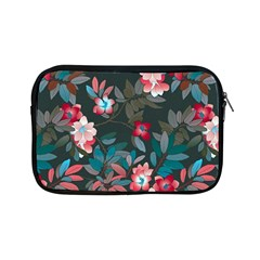 Floral Pattern Background Art Apple Ipad Mini Zipper Cases