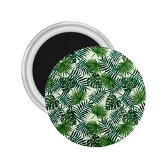 Leaves Tropical Wallpaper Foliage 2.25  Magnets
