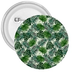 Leaves Tropical Wallpaper Foliage 3  Buttons