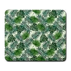Leaves Tropical Wallpaper Foliage Large Mousepads
