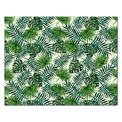 Leaves Tropical Wallpaper Foliage Rectangular Jigsaw Puzzl by Pakrebo