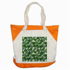 Leaves Tropical Wallpaper Foliage Accent Tote Bag