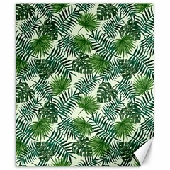 Leaves Tropical Wallpaper Foliage Canvas 20  x 24