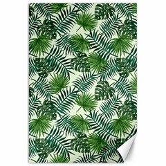 Leaves Tropical Wallpaper Foliage Canvas 20  x 30