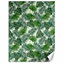 Leaves Tropical Wallpaper Foliage Canvas 36  x 48