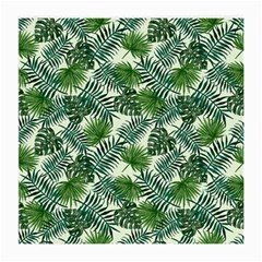 Leaves Tropical Wallpaper Foliage Medium Glasses Cloth
