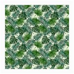Leaves Tropical Wallpaper Foliage Medium Glasses Cloth Front