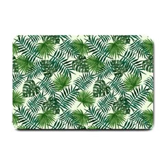 Leaves Tropical Wallpaper Foliage Small Doormat