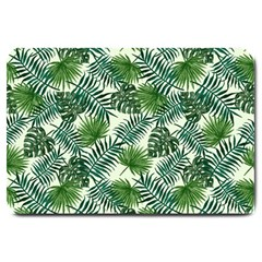 Leaves Tropical Wallpaper Foliage Large Doormat