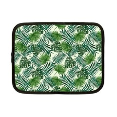 Leaves Tropical Wallpaper Foliage Netbook Case (small) by Pakrebo