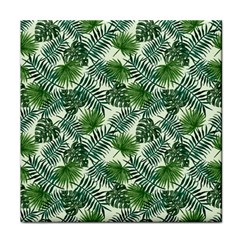 Leaves Tropical Wallpaper Foliage Face Towel