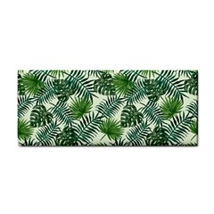 Leaves Tropical Wallpaper Foliage Hand Towel