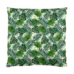 Leaves Tropical Wallpaper Foliage Standard Cushion Case (Two Sides)