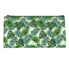 Leaves Tropical Wallpaper Foliage Pencil Cases