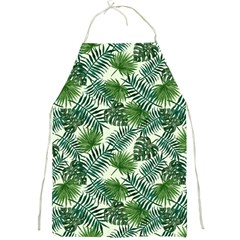 Leaves Tropical Wallpaper Foliage Full Print Aprons