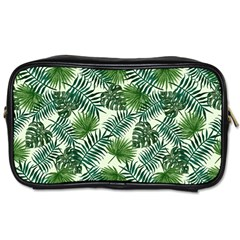 Leaves Tropical Wallpaper Foliage Toiletries Bag (Two Sides)
