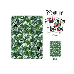 Leaves Tropical Wallpaper Foliage Playing Cards 54 Designs (Mini)