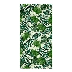 Leaves Tropical Wallpaper Foliage Shower Curtain 36  x 72  (Stall)