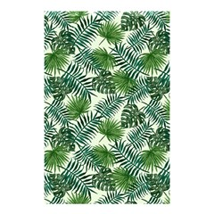 Leaves Tropical Wallpaper Foliage Shower Curtain 48  x 72  (Small)