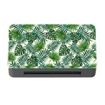 Leaves Tropical Wallpaper Foliage Memory Card Reader with CF Front