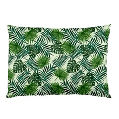 Leaves Tropical Wallpaper Foliage Pillow Case (Two Sides)