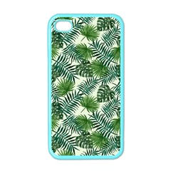 Leaves Tropical Wallpaper Foliage Iphone 4 Case (color) by Pakrebo