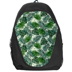 Leaves Tropical Wallpaper Foliage Backpack Bag