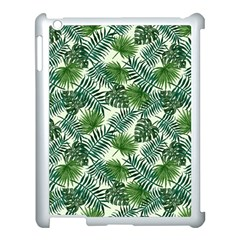 Leaves Tropical Wallpaper Foliage Apple iPad 3/4 Case (White)