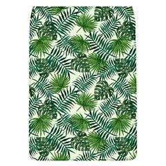 Leaves Tropical Wallpaper Foliage Removable Flap Cover (l) by Pakrebo