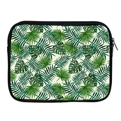 Leaves Tropical Wallpaper Foliage Apple iPad 2/3/4 Zipper Cases