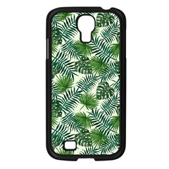 Leaves Tropical Wallpaper Foliage Samsung Galaxy S4 I9500/ I9505 Case (Black)