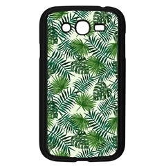 Leaves Tropical Wallpaper Foliage Samsung Galaxy Grand DUOS I9082 Case (Black)