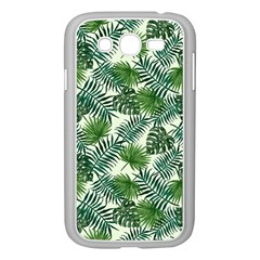Leaves Tropical Wallpaper Foliage Samsung Galaxy Grand DUOS I9082 Case (White)