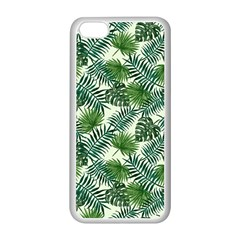 Leaves Tropical Wallpaper Foliage iPhone 5C Seamless Case (White)