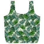 Leaves Tropical Wallpaper Foliage Full Print Recycle Bag (XL) Front