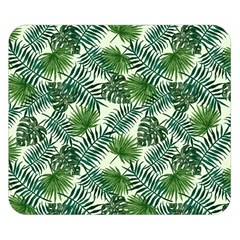 Leaves Tropical Wallpaper Foliage Double Sided Flano Blanket (Small)