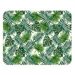 Leaves Tropical Wallpaper Foliage Double Sided Flano Blanket (Large)  80 x60  Blanket Front