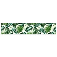 Leaves Tropical Wallpaper Foliage Small Flano Scarf