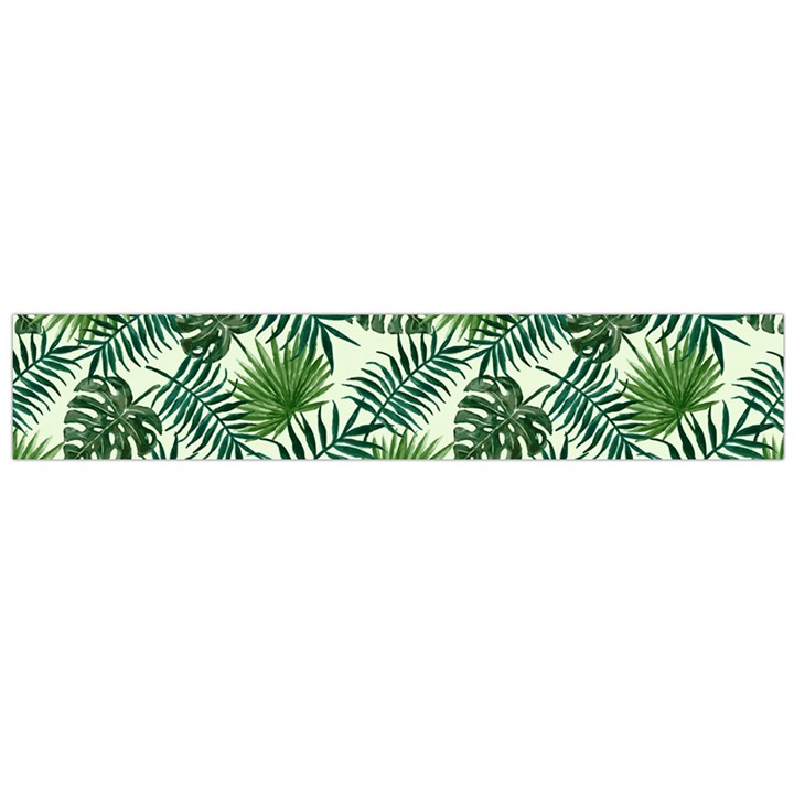 Leaves Tropical Wallpaper Foliage Large Flano Scarf